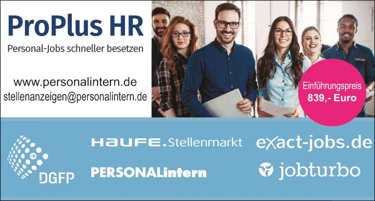 HR PRO+ Stellenanzeigen